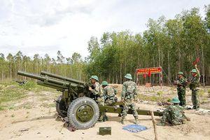 Tiếp nối truyền thống bộ đội pháo binh anh hùng