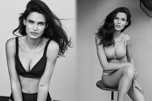 Siêu mẫu Ý Bianca Balti diện nội y tôn đường cong hấp dẫn