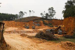Nghệ An: Huyện 'vượt mặt' tỉnh, cho doanh nghiệp khai thác đất đem bán