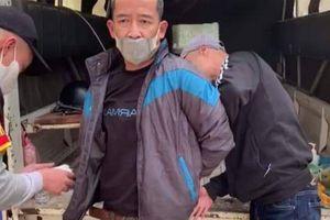 Gã đàn ông trộm xe máy tăng ga lao vào tổ cảnh sát 141