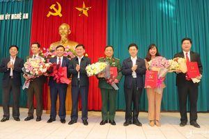 Nhân sự, lãnh đạo mới tại Nghệ An, Hà Tĩnh, Ninh Bình
