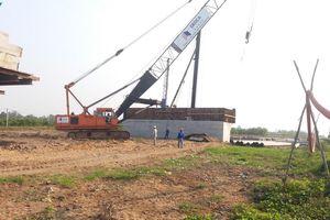 Cao tốc Trung Lương - Mỹ Thuận vẫn đảm bảo tiến độ dù hạn mặn bủa vây