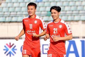 Hougang Utd vs CLB TP.HCM: Công Phượng, Bùi Tiến Dũng ra sân từ đầu