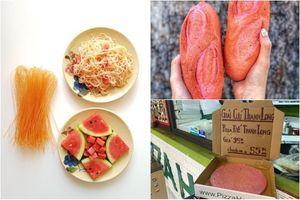 Bún dưa hấu, pizza, bánh mì thanh long... từ nông sản 'giải cứu' mùa corona được lòng khách