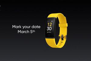 Realme tung teaser xác nhận ra mắt smartband vào ngày 5/3