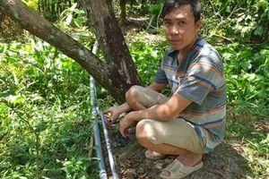 Cần Thơ: Ống nước Bình Minh vừa xài đã bị phù, nứt