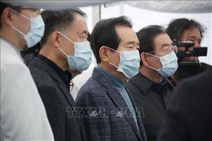 Thủ tướng Hàn Quốc chuyển trụ sở công tác tới 'ổ dịch' COVID-19