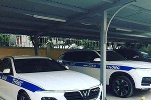 Xe sang VinFast được đặt làm xe chuyên dụng cho cảnh sát giao thông Việt Nam?