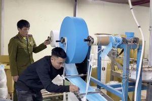 Doanh nghiệp dùng giấy vệ sinh thay vải kháng khuẩn sản xuất khẩu trang bị đề nghị khởi tố hình sự