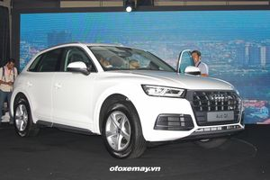 Audi Q5 tại Việt Nam bị triệu hồi để gia cố ốp chắn bùn bánh sau