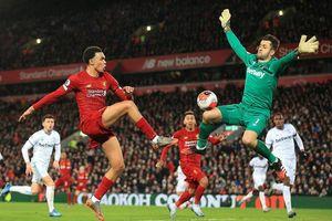 Liverpool thắng kịch tính West Ham sau màn rượt đuổi tỷ số ở Anfield
