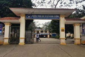 Khởi tố vụ án môi giới mại dâm trẻ em ở Trường Trung học cơ sở xã Khánh Thượng