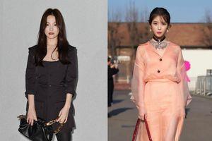 Song Hye Kyo bị chê già, IU mặc đồ nhăn kém duyên dự show thời trang