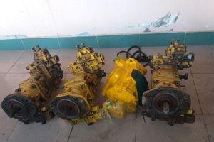 'Bộ tứ' gây ra 6 vụ trộm máy bơm thủy lực sa lưới