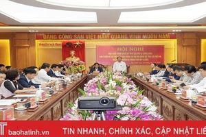 Tiếp thu tối đa ý kiến đại biểu, hoàn thiện dự thảo Báo cáo chính trị trình Đại hội Đảng bộ Hà Tĩnh lần thứ XIX