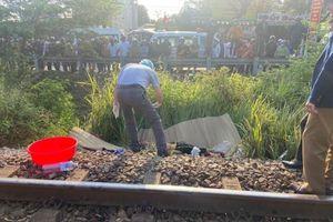 Đà Nẵng: Một nam thanh niên bị tàu hỏa cán tử vong