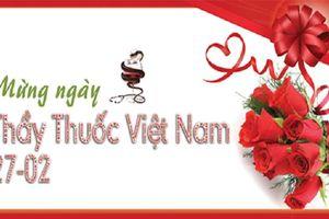 Những tấm thiệp đẹp và ý nghĩa chúc mừng ngày Thầy thuốc Việt Nam 27/2