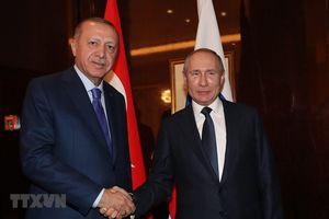 Sẽ không có cuộc gặp giữa Tổng thống Nga và người đồng cấp Thổ Nhĩ Kỳ