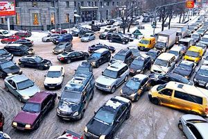 Giao thông ở Moscow gián đoạn vì nhóm người Trung Quốc