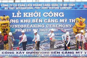 Khởi công xây dựng khu bến cảng trên 14 nghìn tỷ đồng ở Quảng Trị