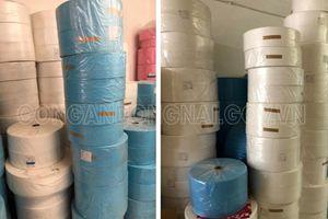 Thu giữ 6.000 chiếc khẩu trang tại cơ sở sản xuất không phép ở Đồng Nai