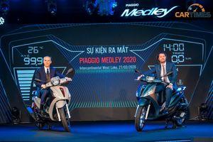 Xe Piaggio Medley 2020 chốt giá tại thị trường Việt Nam, thêm công nghệ, tăng giá bán
