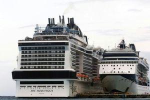 Tàu du lịch được cập cảng Mexico sau hai lần bị từ chối