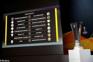 Bốc thăm Europa League: MU dễ thở, Inter, Roma gặp khó