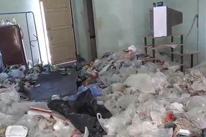 Nam thanh niên dọn khỏi phòng trọ, để lại 'núi rác' cho chủ nhà