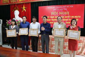 Sơn Tây có 41 tổ chức cơ sở Đảng doanh nghiệp