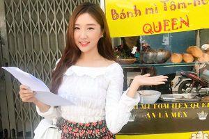Cô gái Hàn Quốc xinh đẹp hết lời khen ngợi bánh mỳ của Việt Nam