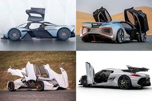 Top 10 siêu xe thể thao đắt nhất thế giới: Aston Martin Valkyrie đầu bảng
