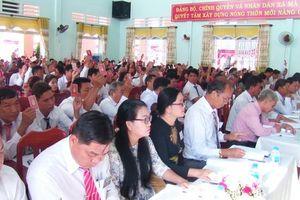 Các chi, Đảng bộ trong tỉnh tổ chức đại hội