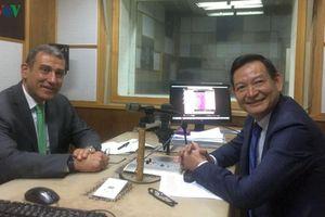 Đại sứ Việt Nam tham gia đối thoại trên Đài phát thanh Ai Cập