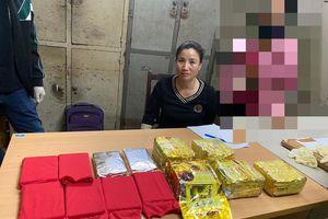 Bắt bà trùm đất Cảng thu 10 bánh heroin và 5kg ma túy đá