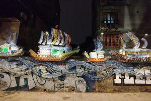 Ký ức Hà Nội qua tranh vẽ đường phố