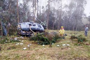 Tai nạn máy bay tại Cô-lôm-bi-a và Tây Ban Nha