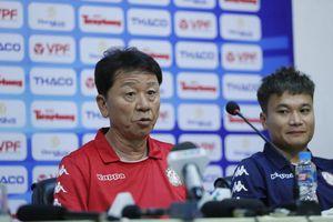 HLV Chung Have Seong: 'Siêu Cup Quốc gia có tính chất quan trọng'