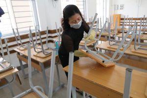 Tăng cường phòng dịch COVID-19 tại các cơ sở giáo dục