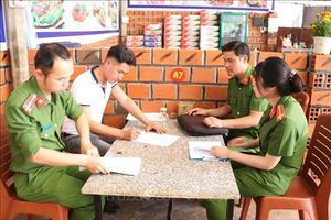 Công an tỉnh Gia Lai đưa Nghị định 100 về làng