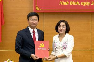 Ninh Bình: Công bố quyết định bổ nhiệm Chánh Văn phòng Tỉnh ủy
