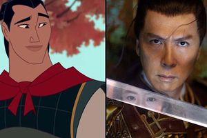 Mulan thay đổi hoàn toàn Li Shang trong phim live-action của Lưu Diệc Phi