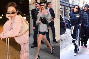 Không riêng Ngọc Trinh, Diệu Nhi cũng tưng bừng đụng độ chân dài triệu đô Kendall Jenner, Bella Hadid
