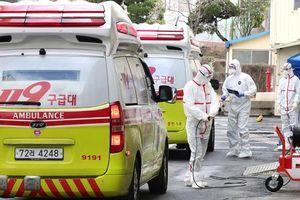 Hàn Quốc tăng kỷ lục 594 ca nhiễm virus corona, 17 ca tử vong