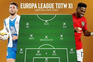 Đội hình tiêu biểu Europa League: Có Fred nhưng vắng Bruno Fernandes