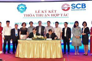 SCB và HUBA ký kết thỏa thuận hợp tác