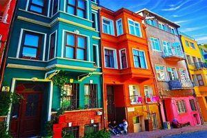Chiêm ngưỡng những ngôi nhà có màu sắc rực rỡ nhất thế giới