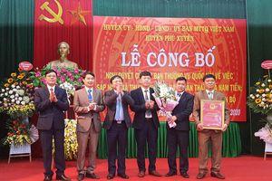 Huyện Phú Xuyên công bố thành lập xã Nam Tiến