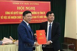 Nhân sự mới Hải Dương, Hà Tĩnh, Ninh Thuận, Hà Giang, Lạng Sơn
