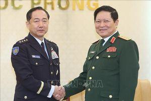 Thúc đẩy hợp tác quốc phòng Việt Nam-Nhật Bản